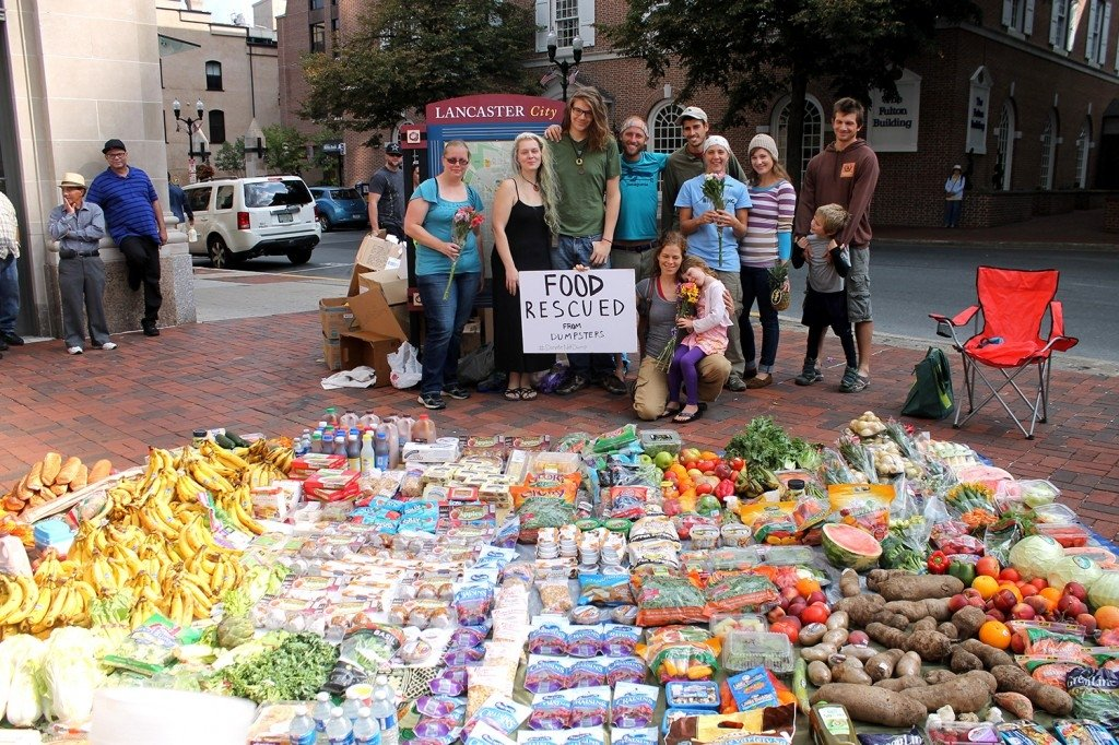 Rob Greenfield desperdicio alimentos