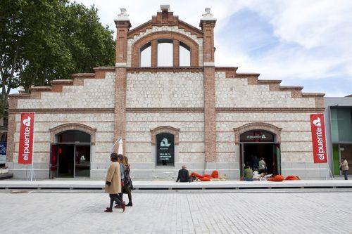 Inauguración El Puente, Casa del Lector, Matadero, Madrid. Abril 2017
